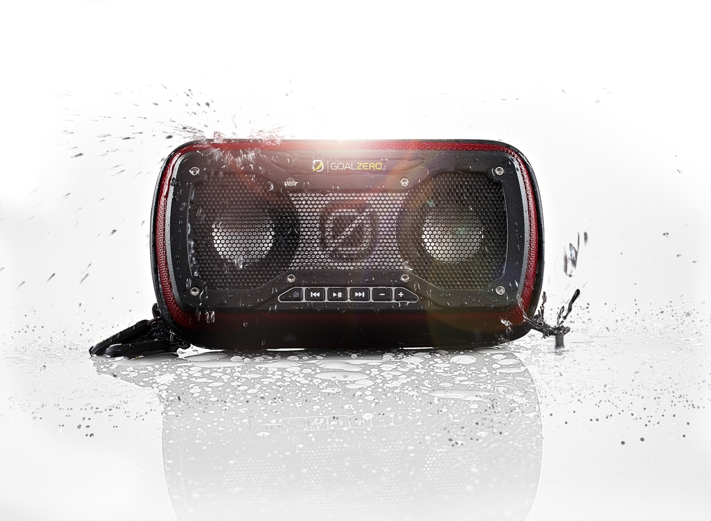 RockOut V2 głośnik przenośny stereo wodoodporny czarny