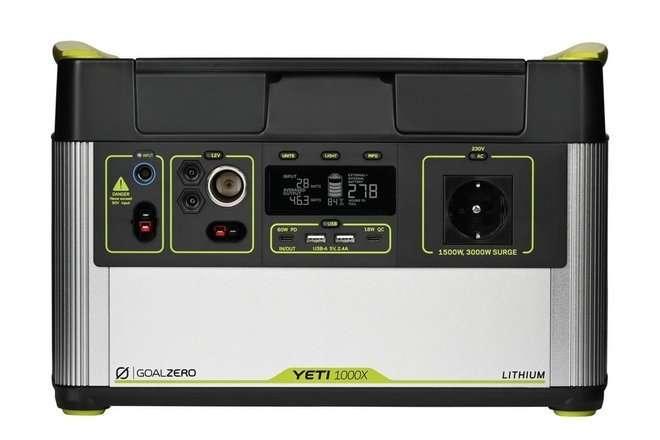 Goal Zero Mobilny i ekologiczny magazyn energii 97Ah   230V